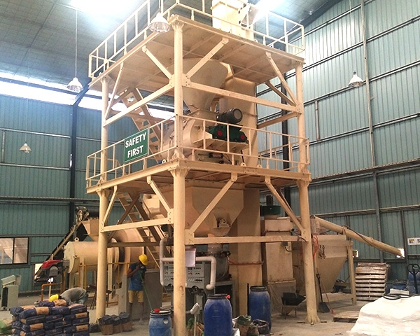 10t Dry Mortar Plant 10-20t/h Medium Scale Full -automatic Dry Mix Mortar Plant