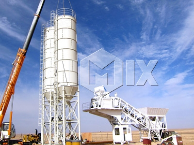 AJY-90 Truck Mounted Concrete Batching Plant